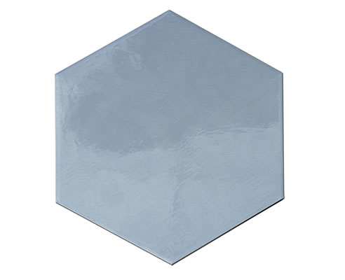gloss hexagon tile
