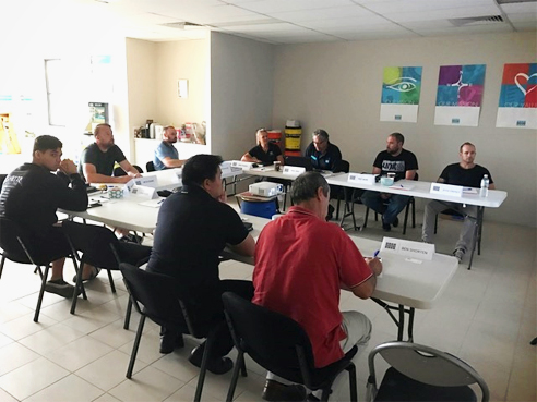 Epoxy grouting training from LATICRETE