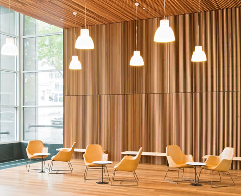 western red cedar interior cladding