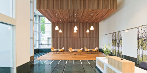 cedar decorative interior paneling