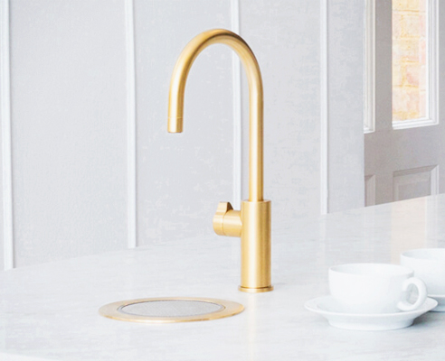 Sustainable filtered water tapware from Zip