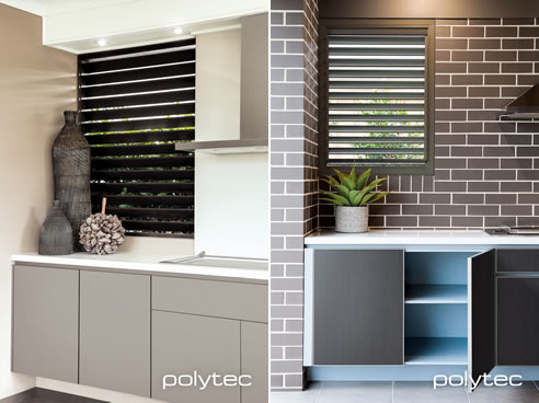 Outdoor Kitchen Cabinetry with Alfresco Range | Polytec