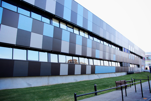 Non-combustible high-density fibre-cement facade from HVG