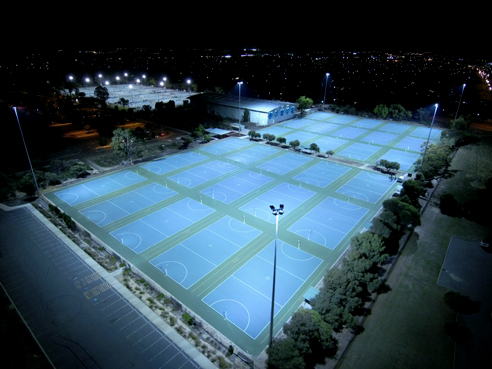 Illuminating sports courts from Gerard Lighting