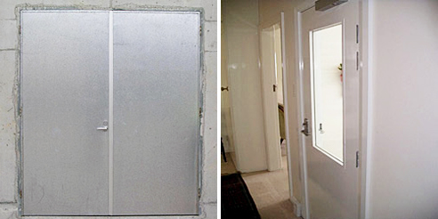 fire rated door frames