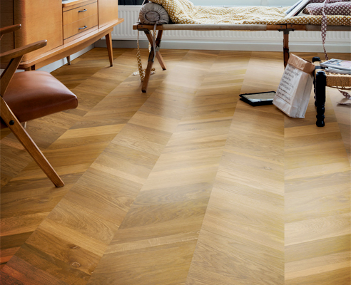 Natural timber floor from Premium Floors