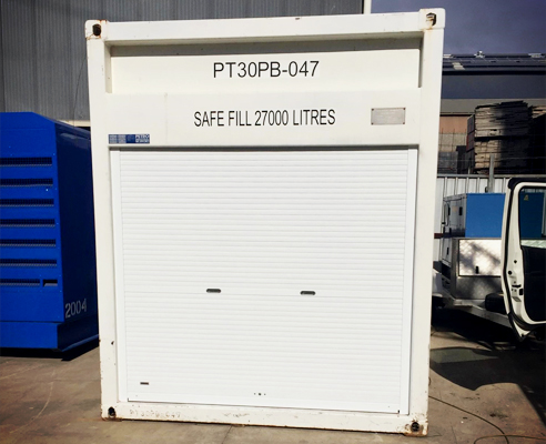 Shipping container security from Rollashield