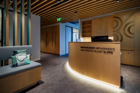 MAXI BEAM timber fitout from Supawood