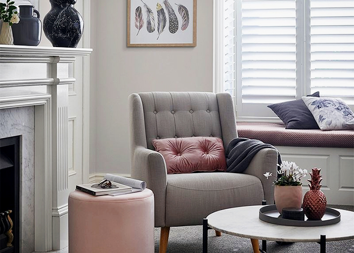 Winter Lounge Room Paint Projects with Dulux