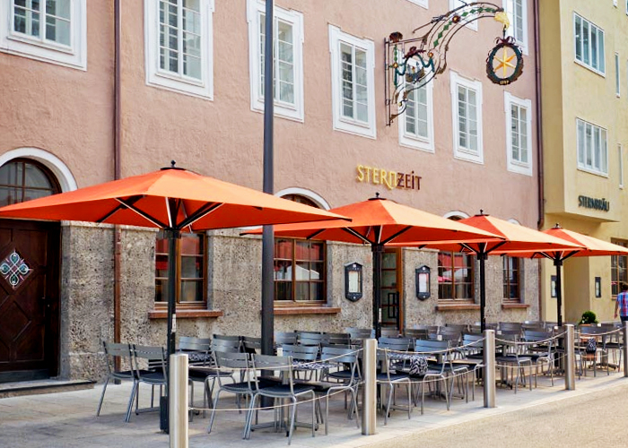 Commercial Outdoor Umbrellas from Designer Shade Solutions