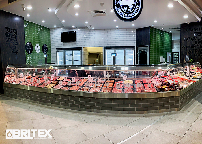 Custom Refrigerated Display Cabinets for Butchers from Britex