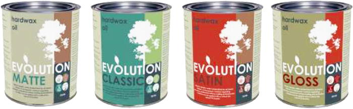 Sustainable Hardwax Oil - Evolution Range from Whittle Waxes