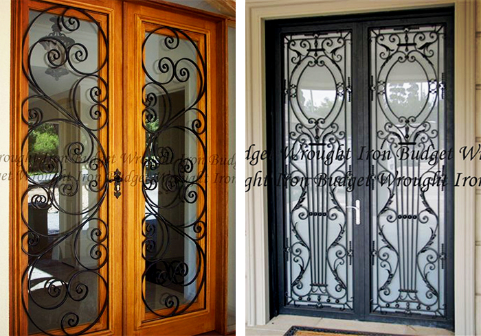 Bespoke Wrought Iron Doors from Budget Wrought Iron