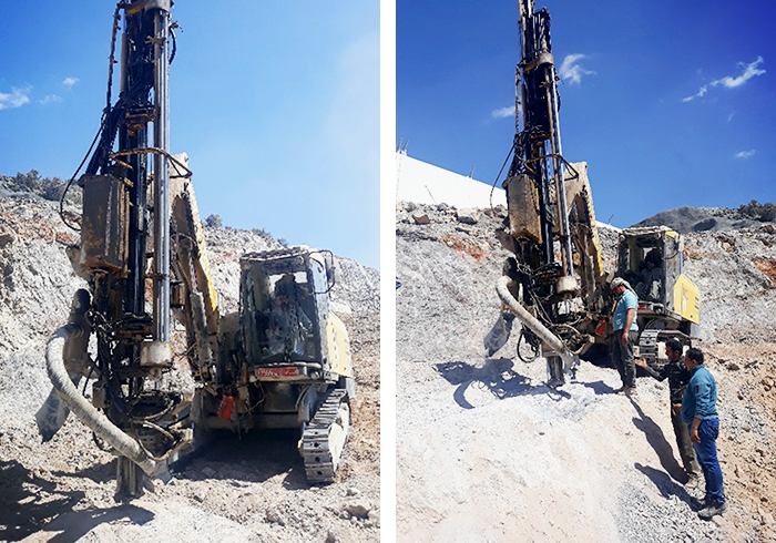 Hard Granite Rock Removal for Oman Highway by Neoferma