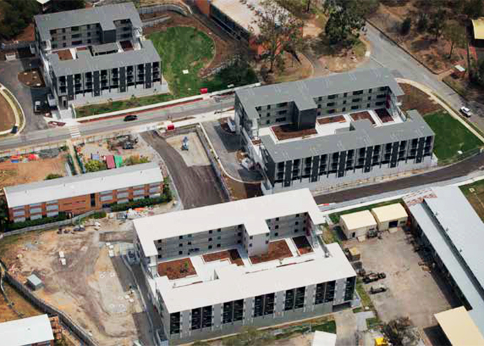 Ultra-Fast Structural Walling for Enoggera Barracks from AFS