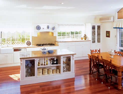 French Provincial Style Meets Modern Functionality In This New Kitchen From Wonderful Kitchens