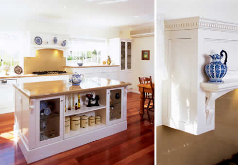 French Provincial Style Meets Modern Functionality In This