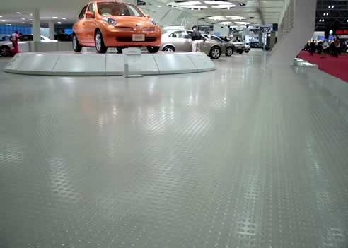 Dalsouple Rubber Flooring Applications