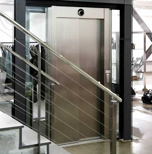 Monospace Environmentally Friendly Lift By Kone