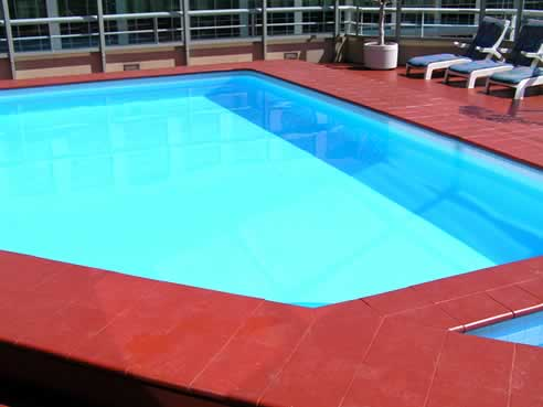 Epotec hi build epoxy pool coating from hitchins technologies for Epoxy coating for swimming pools