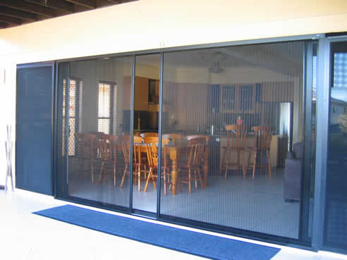 Bi fold and french door insect screens by national screens for French door mosquito screen