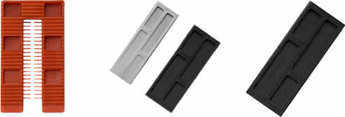 Wedge And Slotted Wedge Frame Packers From Multifixings