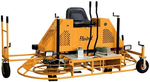 flextool concrete trowel machine