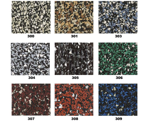 Heavy Duty Recycled Rubber Flooring From Sherwood Enterprises