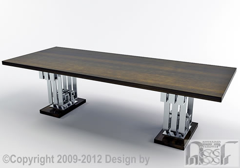 stainless and timber dining table advanced stainless