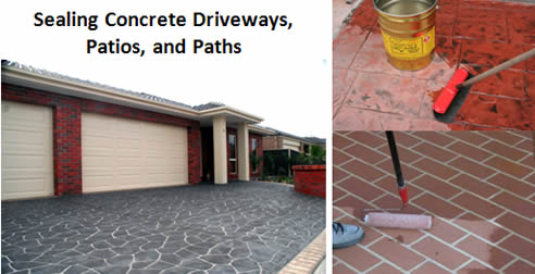 Concrete Seal Colour Range from ASC Building Supplies