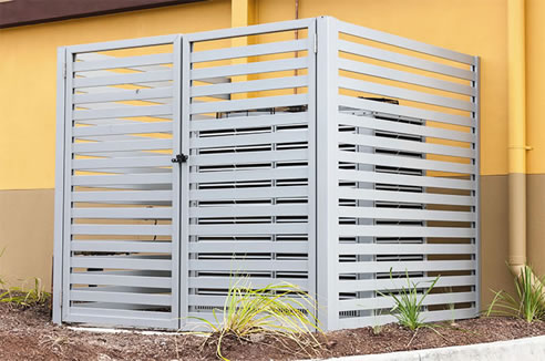 Concealed Fix Privacy Screen Fencing | Alspec