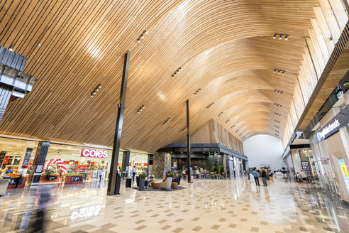 Slatted Timber Curved Ceiling With Supaslat Supawood