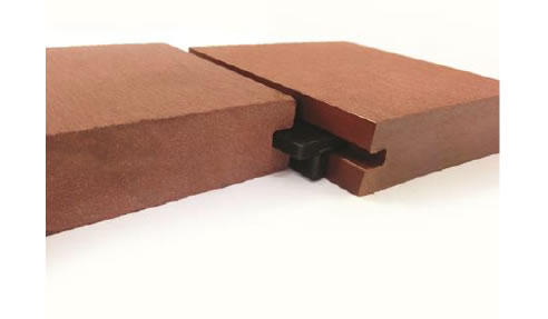 Composite decking concealed fixing clip system futurewood for Timber decking seconds