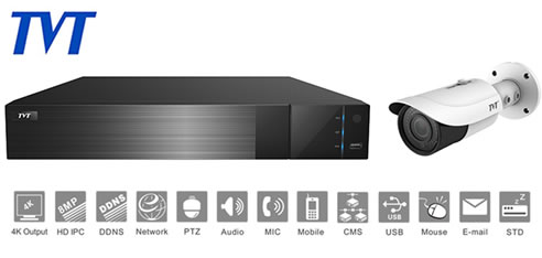 TVT series network video recorders