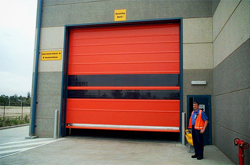 Roller PVC doors from DMF International