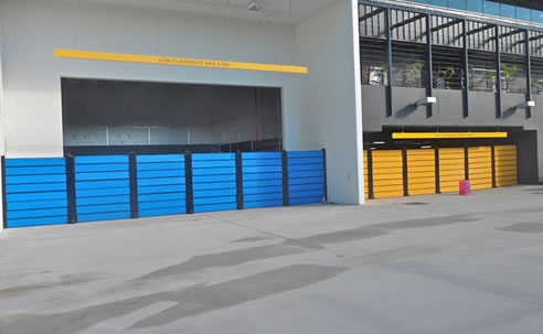 Demountable Flood Protection Barriers