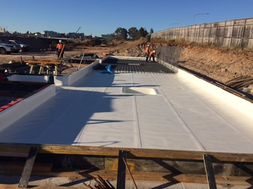Preprufe® 300R pre-applied waterproofing membrane