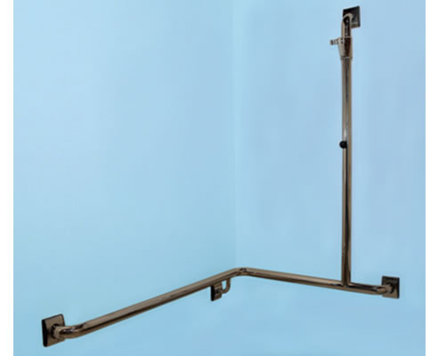 OT Grip Shower Rail
