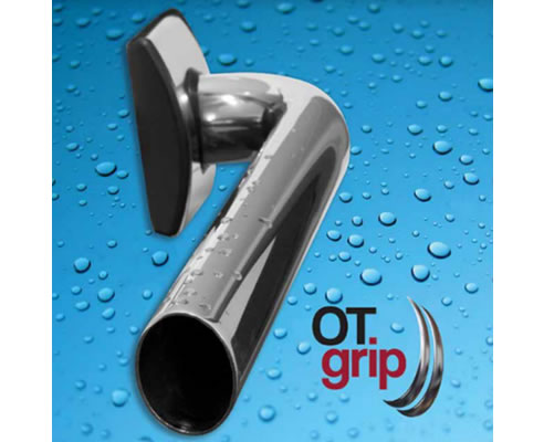 Oval Tube Grab Rail Grip