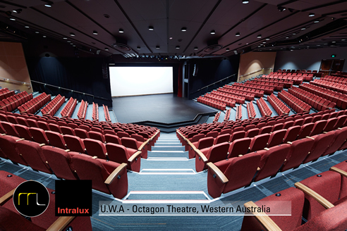 Lighting upgrade for Octagon Theatre