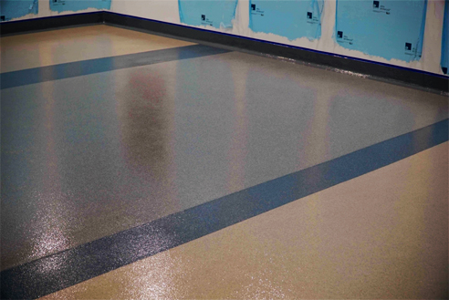 SPARTACOTE flooring system from LATICRETE