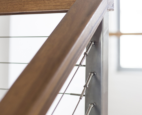 Stainless Steel Square Handrails