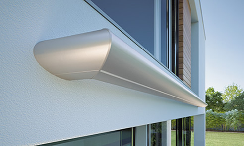Motorised Folding Arm Awning