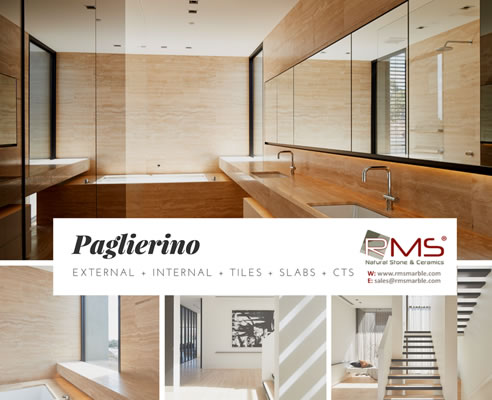 Paglierino travertine