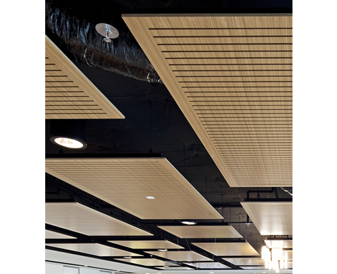 Floating Acoustic Ceiling Panels