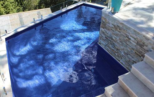 Swimming Pool Tile Ideas at the MDC Mosaics Showroom