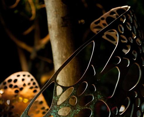 Public Art Sculpture Metal Surface Treatment | Axolotl