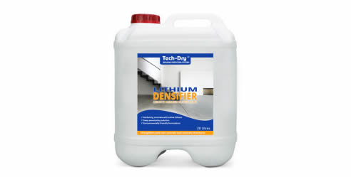 Concrete Sealing with Lithium Densifier | Tech-Dry
