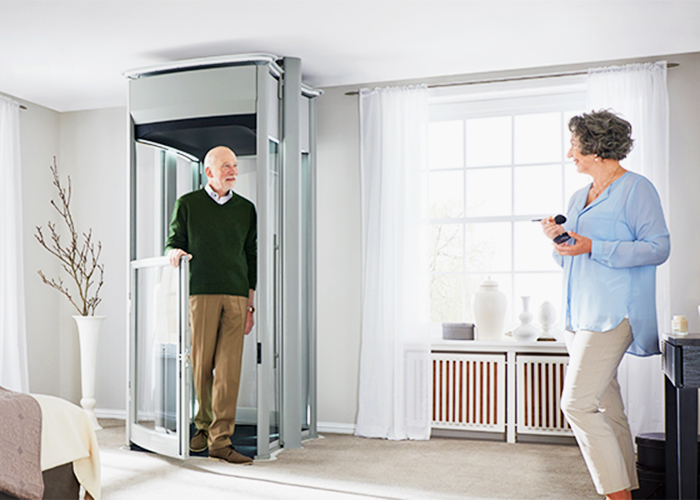 Wheelchair-Friendly Home Lifts from Compact Home Lifts
