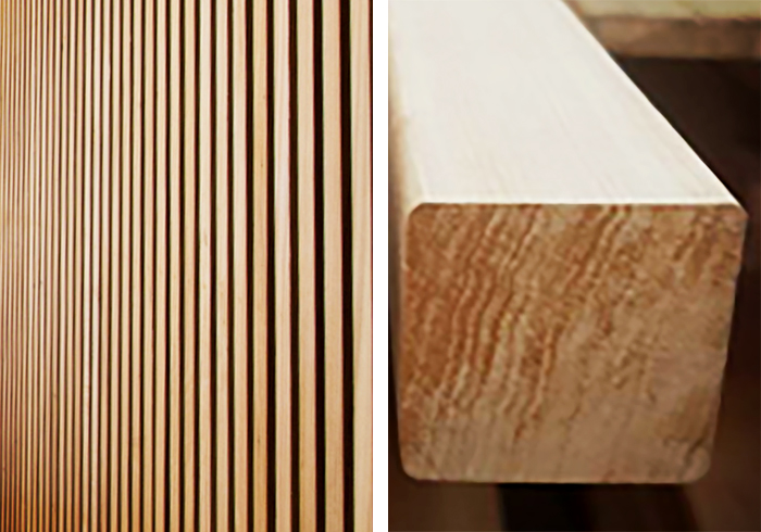 Blackbutt Timber Battens Available from Hazelwood & Hill